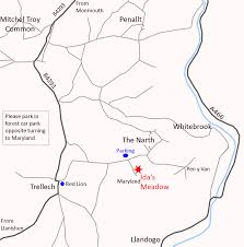Ida's Meadow, Maryland, The Narth – Monmouthshire Meadows Group