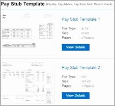 Great Pay Stub / Paycheck Stub Templates Luxury Statement Earnings ...