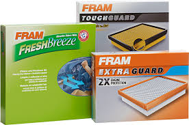 Car Air Filter Comparison Chart Air Filters Extra Guard Tough Guard Ultra Synthetic Fram