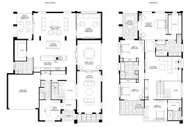 modern two y house designs story plans with open floor plan bedroom bonus room ideas residential