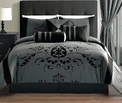 grey and black comforter dark grey comforter set queen blue black grey comforter