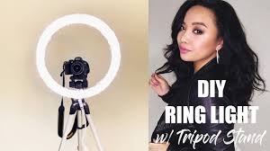 Ring Light Tripod For Iphone Diy Ring Light W Tripod Stand