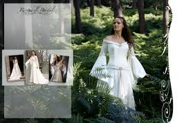 Medieval Fairy Wedding Dresses Celtic Elvish Gothic
