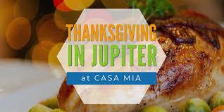 Thanksgiving In Jupiter Thanksgiving Menu Jupiter Casa