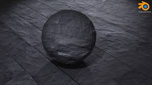 Materials Other black stone texture