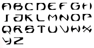 different types of letters diffe letter fonts all about design letter