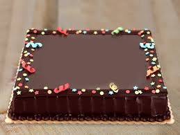 Big Rectangle Cake True Extravagence Cake Bakingo