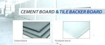 cement backer board thickness tile backer board spacing for cement board for bathroom floor best
