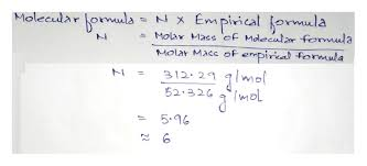 Answered Determine The Formula Of The Compound Bartleby