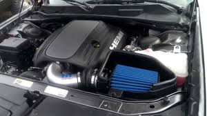 Dodge Challenger R/T Mopar Cold Air Intake (with exhaust test ...