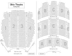 Ohio Theatre Seating Chart Ohio Theatre Columbus Seating