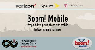 Verizon and Sprint Based Prepaid Plans with Mobile Hotspot from