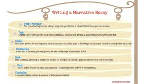 narrative essay introduction personal example hour examples  best tips on how to write a narrative essay nerdymates com prompts infogr naritive essay essay