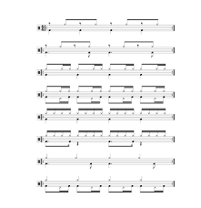 How To Write A Fast And Easy Drum Chart 11 Drum Exercises For Speed Independence And Control