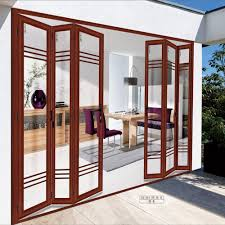 china 6 panel retractable interior folding glass doors china aluminum folding door glass folding door