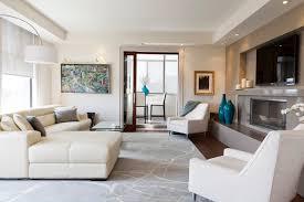 Luxurious Condo Living Room contemporary-living-room