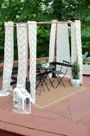 diy mini cabana cool copper pipe project for your deck