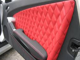 renault modus black and parchment leather with contrasting stitching and diamond