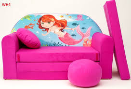 sofa beds for kids.  Kids Childrens Sofa Bed Type W Fold Out Sofa Foam Bed For Children  Free Pillow Throughout Beds For Kids S