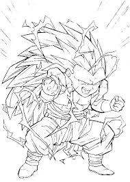 Coloring Pages Goku Coloring Pages Super Saiyan Gallery Dragon