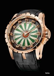 roger dubuis excalibur round table front