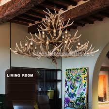24 antler chandelier 12 8 4 three tiers cast cascade candle style ceiling
