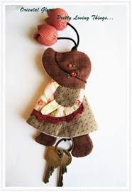 Key cover by Munkongshop on Etsy, $16.00   Small quilt   Pinterest ... & Sunbonnet Sue Hand quilted Key Cover Key Chain by OrientalGlory, $25.00 Adamdwight.com