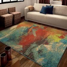 shining ideas bright multi colored area rugs 2