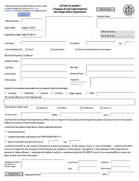 Authorization Letter Sample Forms And Templates Fillable