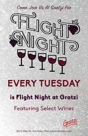 featuring a flight of select wines