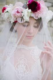 Image result for bride of christ flowers hair white robe