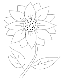 Small Picture Printable Sunflower Coloring Pages Coloring Me
