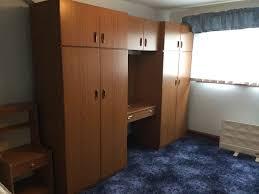 Schreiber Bedroom Furniture Schreiber Double Wardrobe And Vanity Unit Bedroom Set In Cardiff