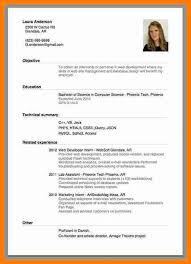 13 Good Cv Examples For First Job Points Of Origins