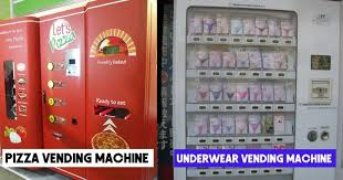 Types Of Vending Machines List Inspiration 48 Strangest And Weird Types Of Vending Machines Around World