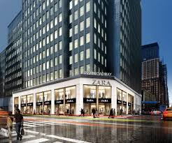 zara s new flagship fidi store real estate weekly rendering