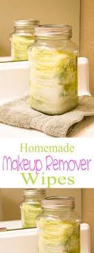 homemade makeup remover wipes 2 cup of water 1 tbsp olive oil 1