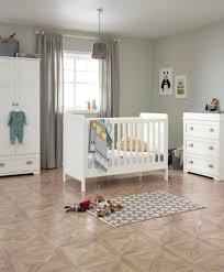 nursery white furniture. Shipley Classic 3 Piece Furniture Set With Cot Bed - White Nursery