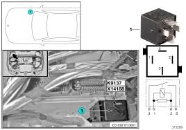 trying to locate dme relay in 2008 bmw 335xi 12 2007 build