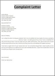 Complaint Format 100 Best Sample Complaint Letters Images On Pinterest Cover within 9