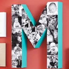 wooden letter photo collage ideas these diy projects are so easy and sure make a