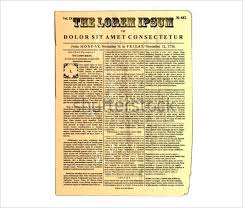 Old Fashion Newspaper Template Template Displaying Old Fashioned Worn Down Red Scroll Paper