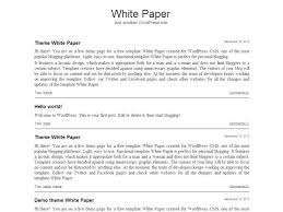 White Paper Format 11 White Paper Example Business Proposal
