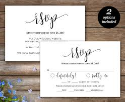 rsvp card template rsvp printable card wedding rsvp cards wedding response