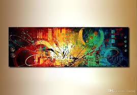 2019 huge art oil painting canvas handmade art nature painting contemporary art oil paintings home decor from fineart 44 59 dhgate com