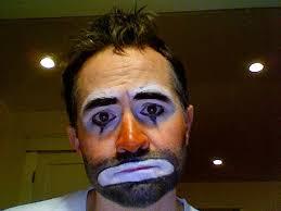 hobo clown makeup costume