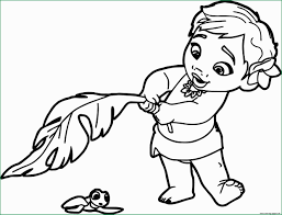 Baby Disney Princess Coloring Pages Best Of Baby Moana Princess