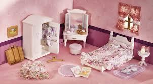 bedroom set main: calico critters girls lavender bedroom set