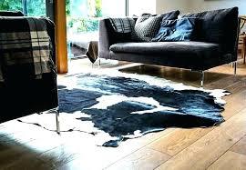 cowhide beautiful rug west black white hide designs and ikea australia h cowhide rug