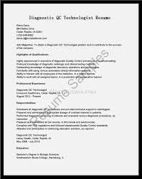 Radiologic Technologist Resume Cover Letter Samples Cover Letter